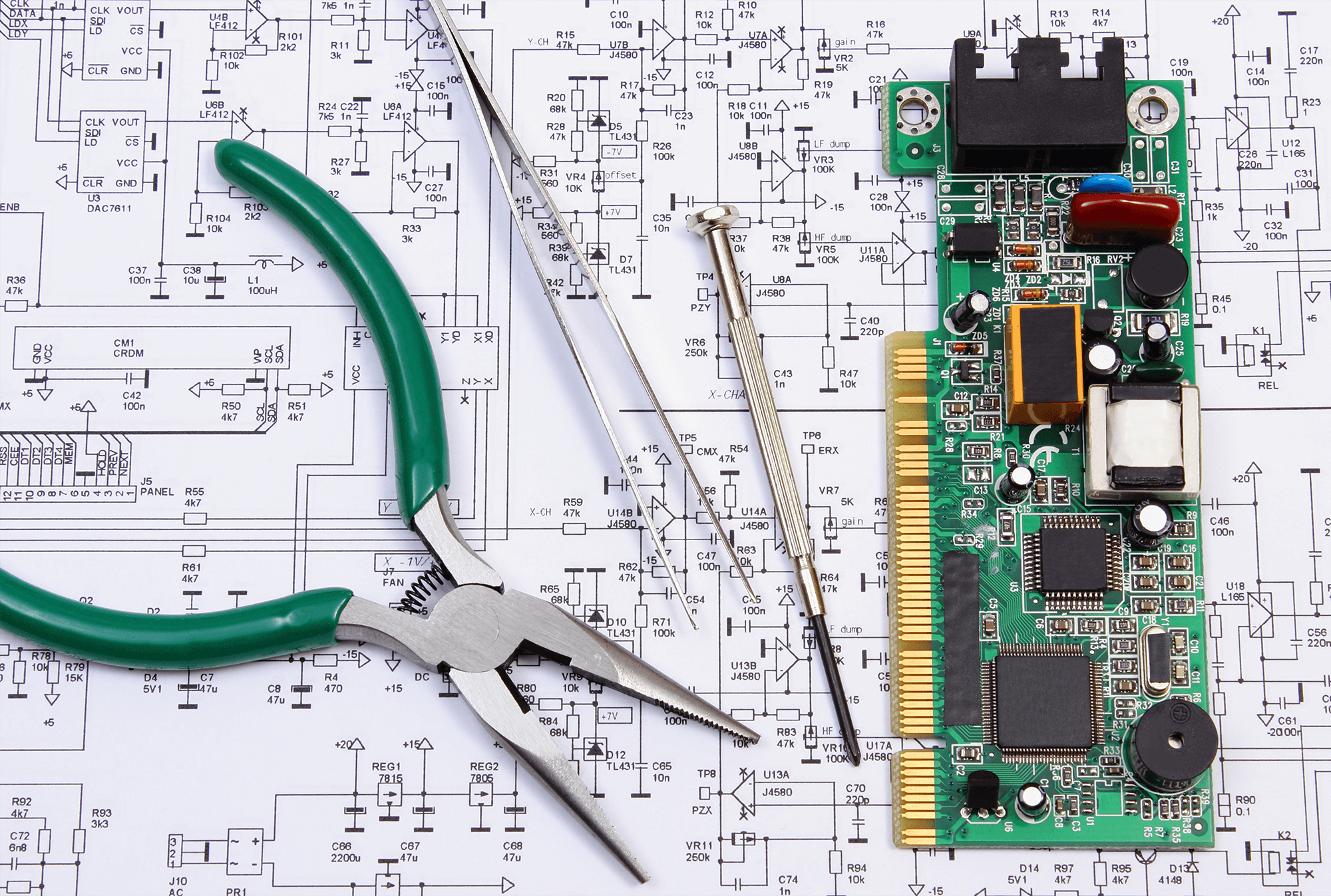 Home Precision Graphics Graphic Of Technological Theme And Circuit Board